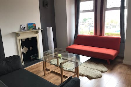 Large private double room with sofa bed