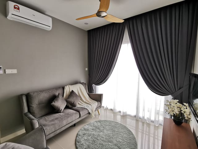3BR Modern-Cozy-Clean-KL View (Near Midvalley)中文房东