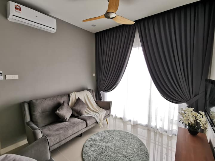 3BR Modern-Sanitize-KL View (Near Midvalley)中文房东