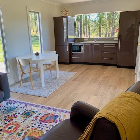A bushland farm retreat where you can re-energise