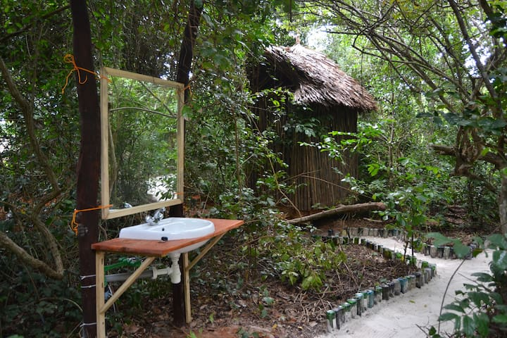 Camping in Watamu, Bamba Kofi 3, Beachfront Forest