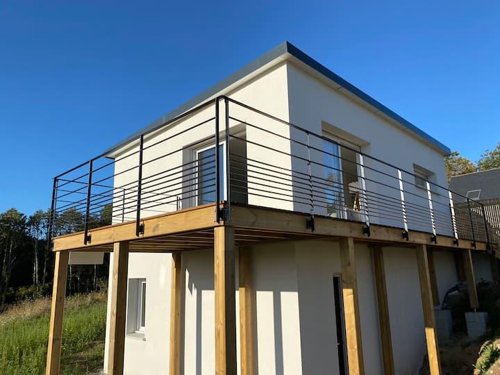 Maison neuve entre Quimper et la côte