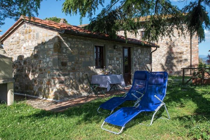 Romantisches Einzelapp im Chianti nur 15 km von FI