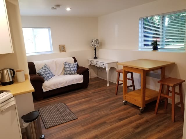 Cozy new well-equipped suite in central Victoria
