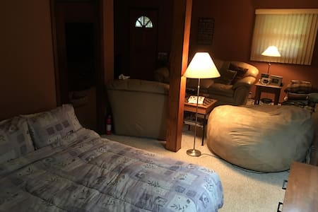 Family Room Cozy area with Air Bed - Peapack - Σπίτι