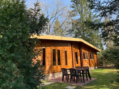 ブラバントの自然に囲まれた快適なログハウス:オルトラン