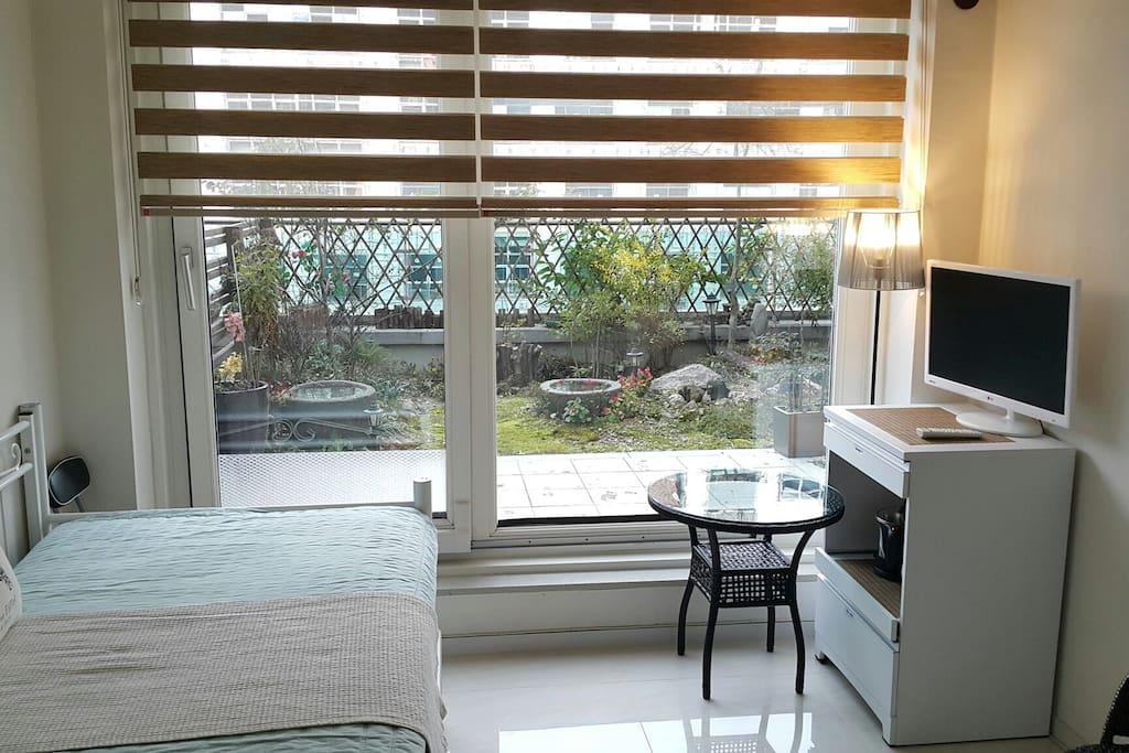 Terrace garden room 숙소 내부  Separate wholehouse  safe, cozy, tidy inside