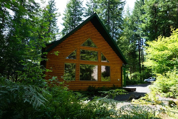 Jo's Cabin - Quiet retreat. Mt Hood, Sandy River.