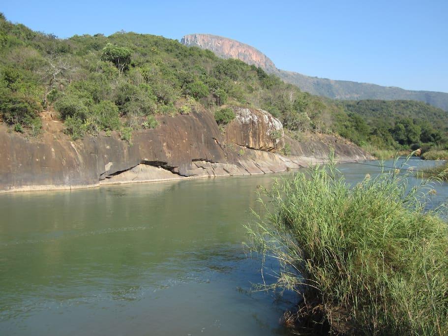 The Mkomazi river