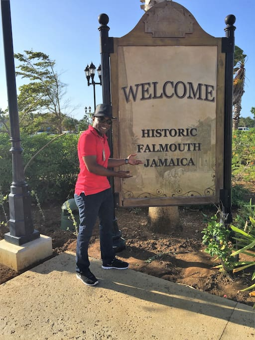 Welcome to the historic environs of Falmouth, Jamaica