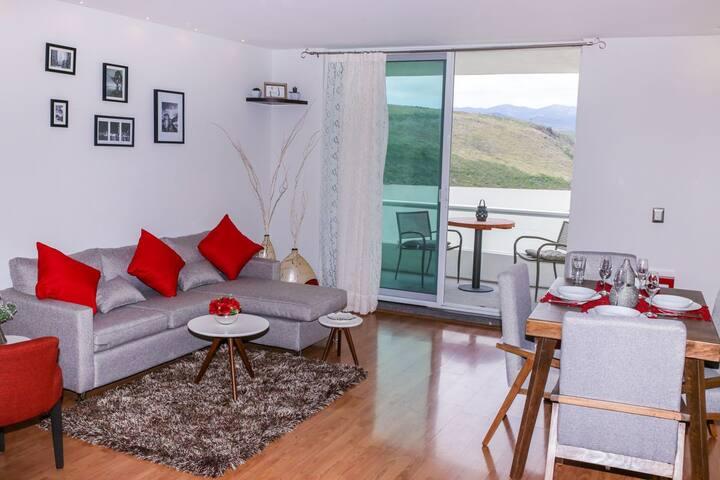 HERMOSO DPTO. residencial en  Lomas 4 Secc. lujo.