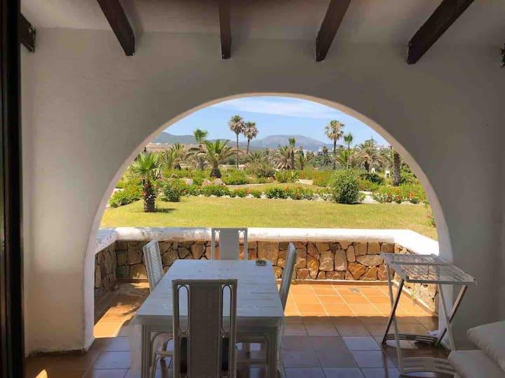Appartement jardin bord de mer Bahia smir resort