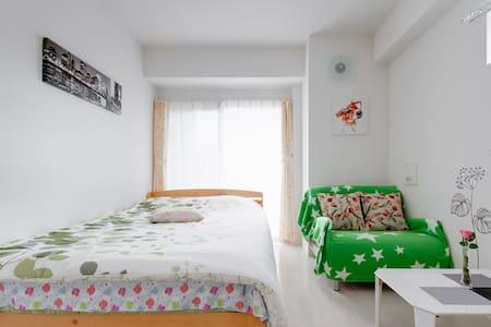 難波NambaST-Walk5min-★Private Room★Near Dotonbori★ - Naniwa-ku, Ōsaka-shi - Wohnung