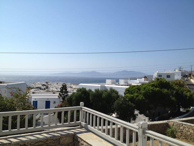 Beautiful Mykonian Apartment With a Great View!! - Míkonos - Departamento