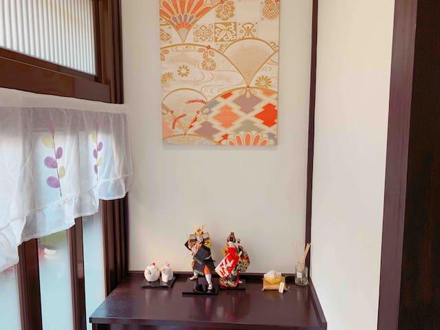 江户小屋欢迎大家来投宿!它位于东京新小岩车站6分钟,闹中取静,周边环境优美、便利。欢迎Family。
