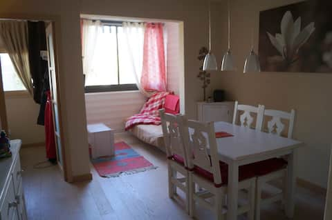 Comfortable 3 rooms in the center of Auron