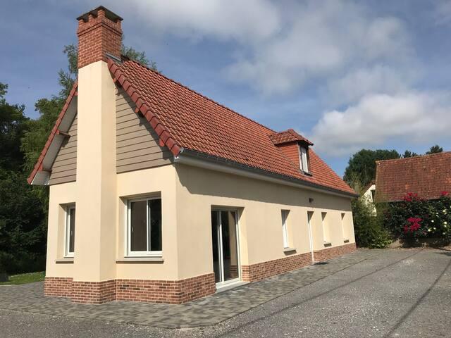 la maison d'Emilie en baie de somme