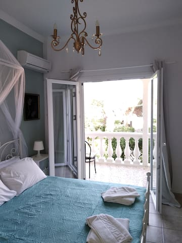 Main bedroom with comfortable double bed