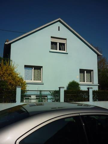 2 chambres privées dans maison proche Mulhouse