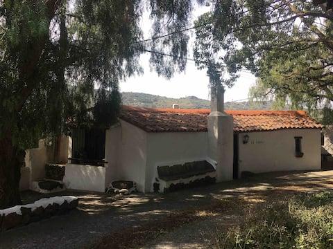 La Choza, the hiking hut