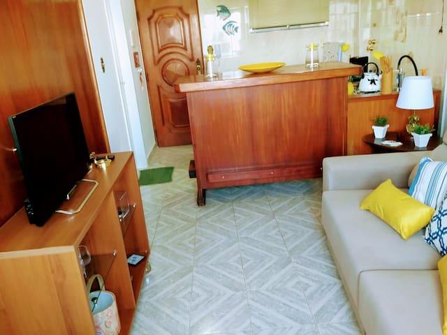 Apartamento Ilha Porchat - Vista Mar