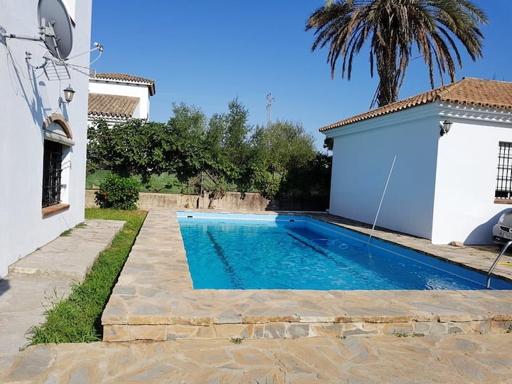 Villa with 6 bedrooms in Vejer de la Frontera, with private pool, enclosed garden and WiFi - 10 km from the beach
