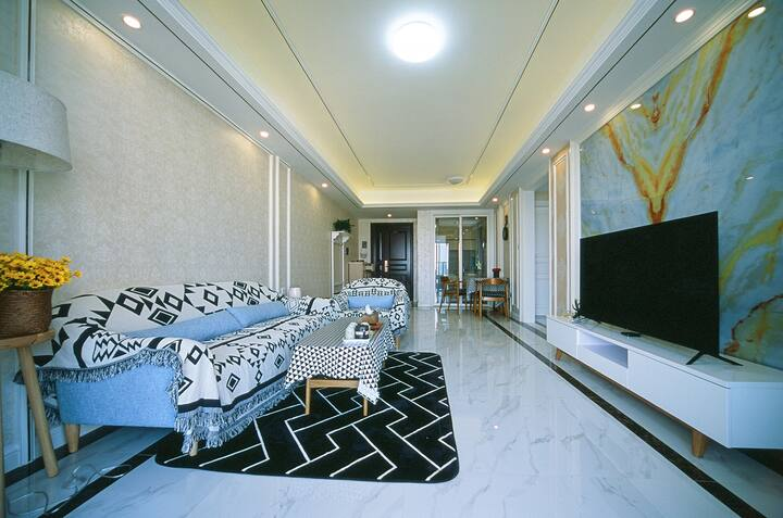 EZHOME圆明新园/富华里旁全新高档公寓,整套房子出租。