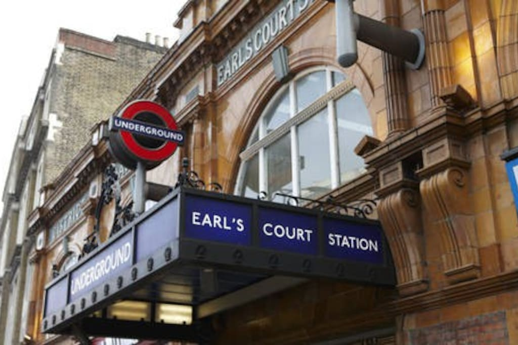 Earls Court Station -Nearby tube station