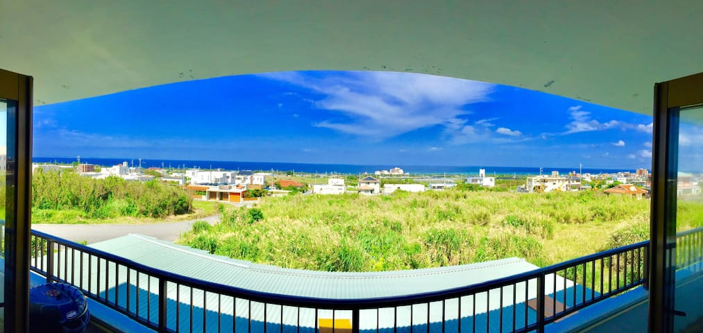 The Ocean & sunset View‼︎ Big house & Good price!