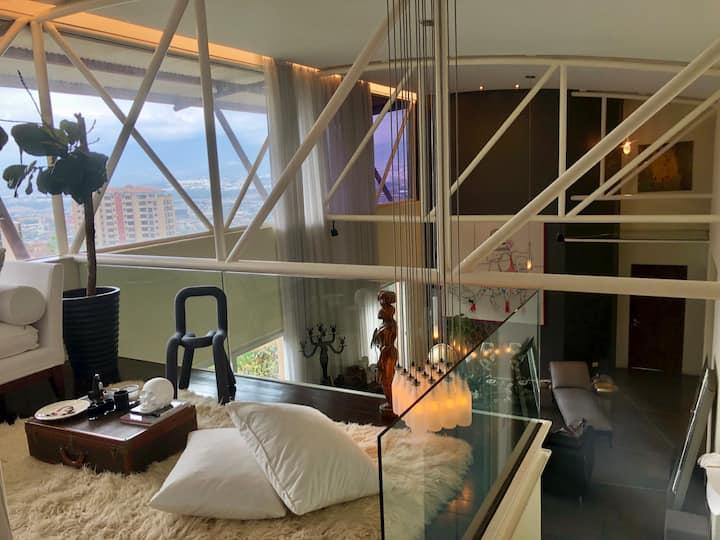 Designer Penthouse Loft