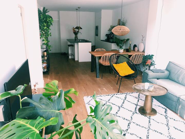 Spacious modern apartment near Vondelpark!
