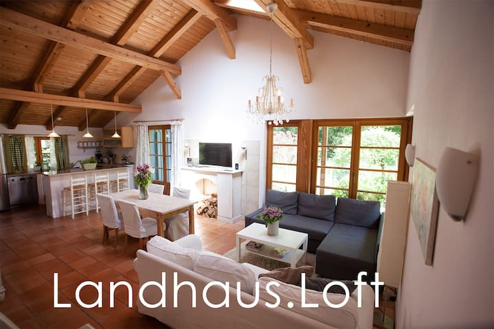 Idyllic apartment with large garden - Hamburg - Loft