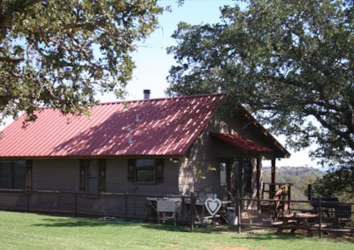 Heart of the Heart Ranch cabin