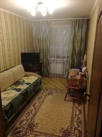 Двухкомнатная квартира для размещения гостей