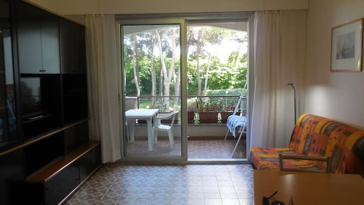 Studio apartment near the sea calm and reserved