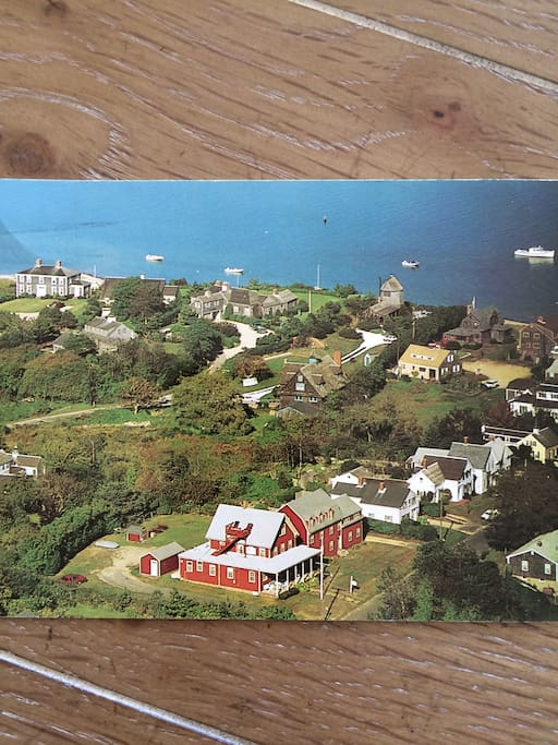 Aerial View of the Surfside Inn, Chatham