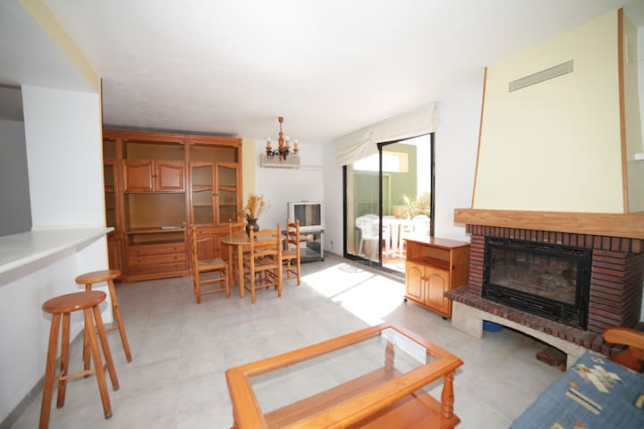 Central penthouse apartment in Alcossebre village.