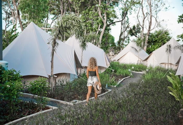 Tikaokao Private Ensuite Tent - Air Conditioning