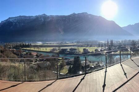 Stunning Swiss Chalet on top of Interlaken