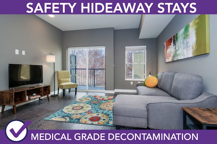 Safety Hideaway - Medical Grade Clean Home 64