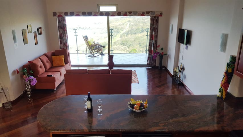 LAKE ARENAL VIEWS NEW CONDO 1B/1 B FULL KITCHEN - Nuevo Arenal - Apartamento