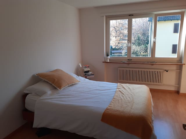 Large sunny bedroom available