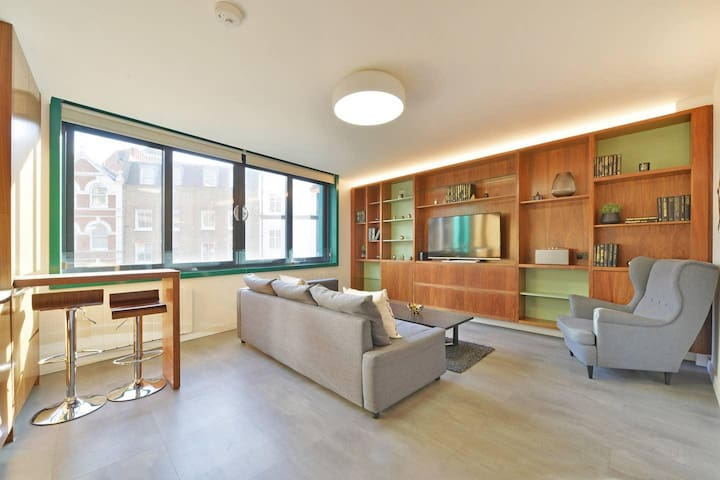 Beautiful and modern two bedroom apt in the heart of Soho/ Central London