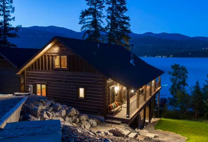Very Rare, Whitefish lake vacation rental!!!! Incredible waterfront and views!