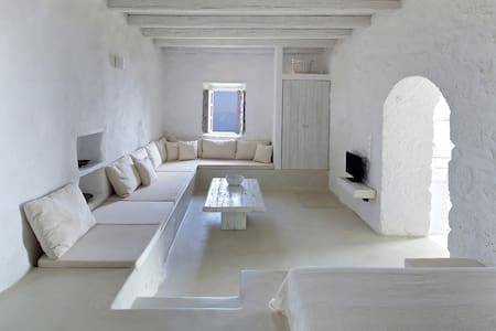 Elegance and authenticity - apartment downstairs - Emporios