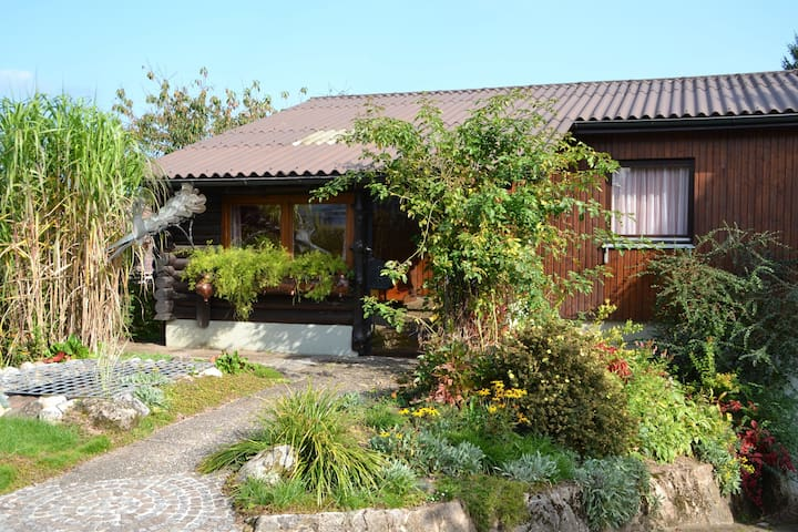 Holiday home in the eastern Black Forest with covered outdoor seating and lovely garden