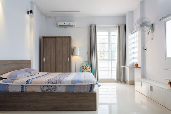 New & private studio apartment in city centre - Ho-Chi-Minh-Stadt