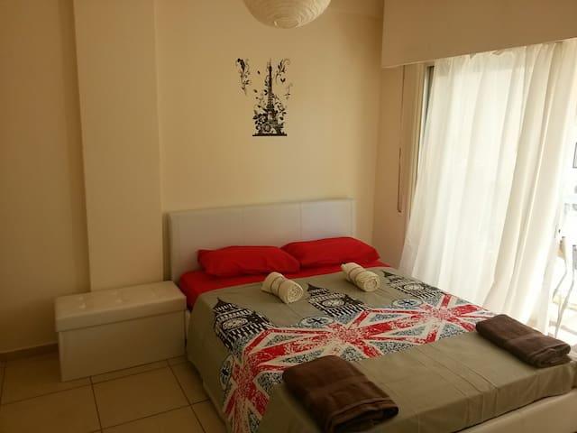Уютная Однаспальная квартира на 4 человек - Pareklisia - Apartment