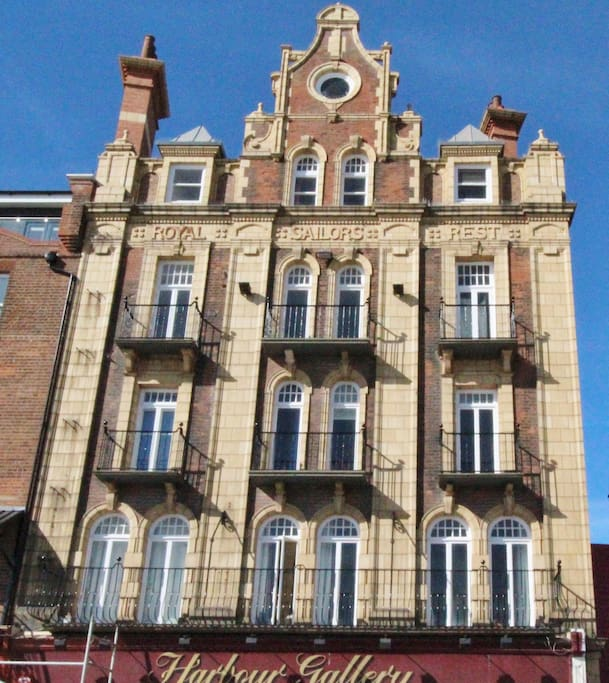 Harbour Parade Apartment on Ramsgate Seafront