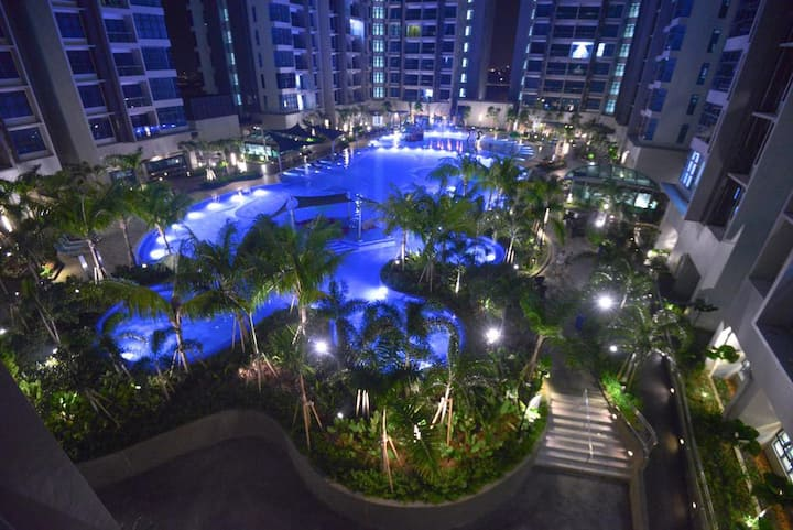 5mins drive to Jonker/Atlantis/4pax/17th floor